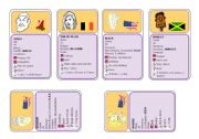 CARD GAMES 2/3 - Identity + likes + CAN + Possession (6cards/24)