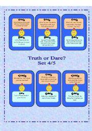 Truth or Dare?  -  Set 4/5