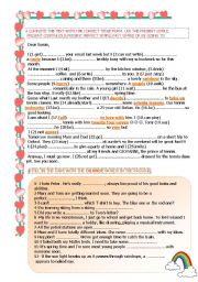 MIXED TENSES & VOCABULARY IN CONTEXT-1