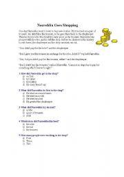English Worksheets: Passage Writing