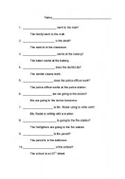 English Worksheets: W Questions