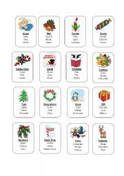 Christmas Taboo Cards