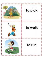 English Worksheets: memory game (4)
