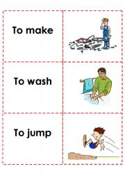 English Worksheets: memory cards (8)