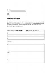 english teaching worksheets cinderella. Black Bedroom Furniture Sets. Home Design Ideas