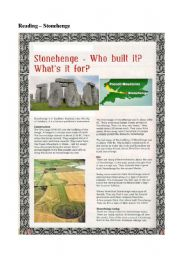A READING ON STONEHENGE