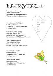 English worksheet: fairytale