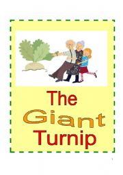 English Worksheet: The Giant Turnip Play Script