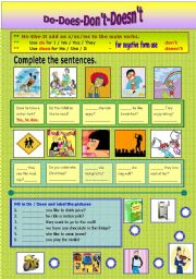 English Worksheets: Ds� Question