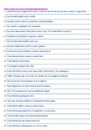 English Worksheets: functions exercises