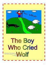 The Boy Who Cried Wolf Play Script - ESL worksheet by izulia