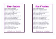 English Worksheets: Sites 4 teachers