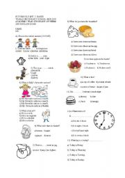 6th grade english worksheets