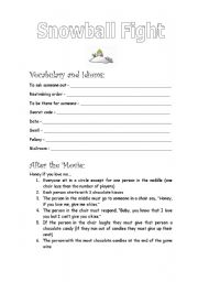 English Worksheets: Elf (part 6 of 9)