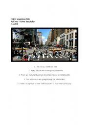 English Worksheet: TOEIC Speaking Part 2 Sample