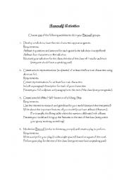English Worksheets: Beowulf Activities (project ideas)