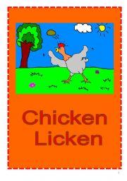 Chicken Licken Play Script