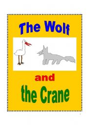 English Worksheet: The Wolf and the Crane Play Script