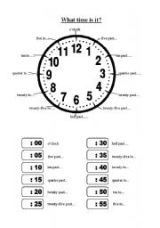 how to read hours in english