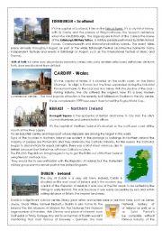 British capitals and Dublin