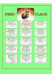 English Worksheets: MOVIE - Fred Claus 2007