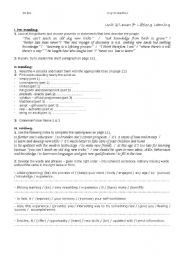 English Worksheets: lifelong learning