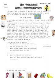 English Worksheets: read�ng