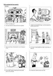 English Worksheets: communication activity