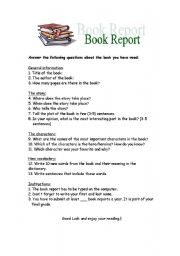 Complete book reports