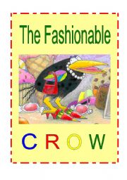 English Worksheet: The Fashionable Crow Play Script