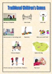 Traditional Children´s Games - Pictionary