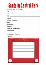 English Worksheets: Elf (part 8 of 9)