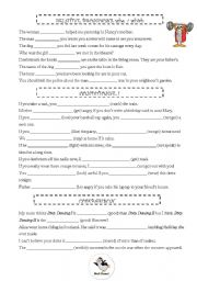 English Worksheets: who/which, first conditional, comparison-superlative