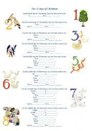 Mon Worksheets Number 12 For Pre Kindergarten Templates And