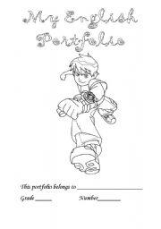 English Worksheet: benten portfolio cover
