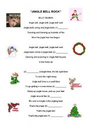 JINGLE BELL ROCK - PERFORMED BY BILLY GILMAN