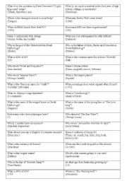 English worksheets: quiz worksheets, page 52