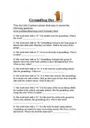 English worksheets groundhog day internet activity ibookread Read Online