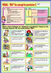 English Worksheets: Modal -