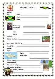 Fact sheet Jamaica
