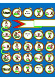 Where is the Reindeer ?  Prepositions Game (2 Pages)