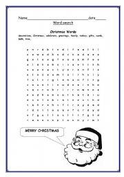 Christmas word search esl worksheet by dridri christmas word search ibookread Read Online