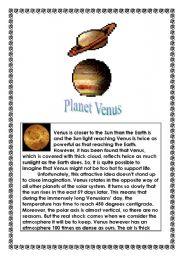 free printable planet venus - photo #45