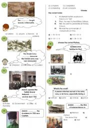 Test about Atatürk (my english/spot on-unit 5)