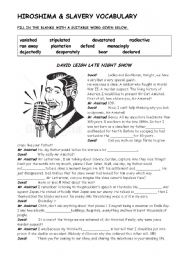 Slavery Worksheet Worksheets for all | Download and Share ...