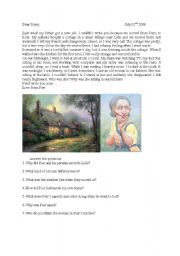 English Worksheets: Pier�s Diary