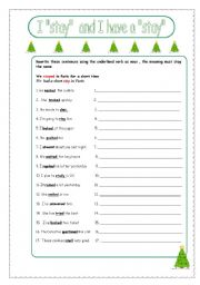 English Worksheets: verb to noun without changing in form