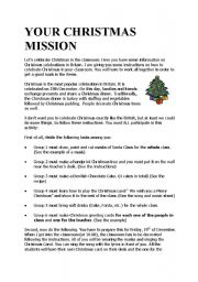 YOUR CHRISTMAS MISSION