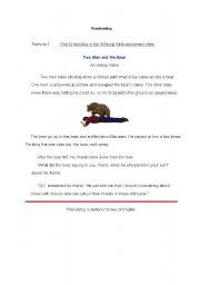 English Worksheet: Proofreading