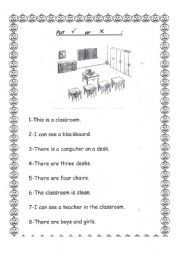 English Worksheets: look and answer